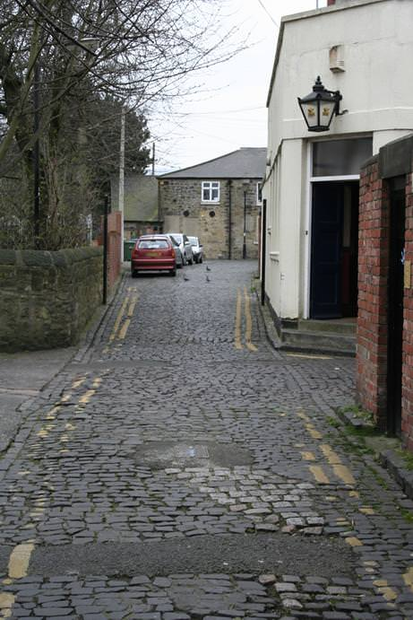 Queen Victoria Back Alley Gosforth